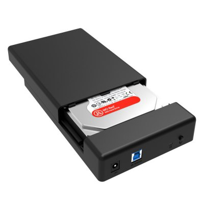ORICO 3588US3 - V1 USB 3.0 Hard Disk Drive Enclosure CaseHDD &amp; SSD<br>ORICO 3588US3 - V1 USB 3.0 Hard Disk Drive Enclosure Case<br><br>Brand: ORICO<br>Color: Black<br>External Interface: SATA, USB3.0<br>Material: ABS<br>Model: 3588US3 - V1<br>Package Size(L x W x H): 20.40 x 12.80 x 4.10 cm / 8.03 x 5.04 x 1.61 inches<br>Package weight: 0.560 kg<br>Packing List: 1 x ORICO 3588US3 - V1 USB 3.0 Hard Disk Drive Enclosure Case, 1 x USB Cable, 1 x Power Supply<br>Product Size(L x W x H): 19.40 x 11.80 x 3.10 cm / 7.64 x 4.65 x 1.22 inches<br>Product weight: 0.090 kg<br>Size: 3.5 inch<br>Supporting Max. Hard Drive Capacity: 4TB