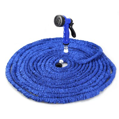 175FT Expandable Garden Water Hose with 7 Modes Spray GunWatering &amp; Irrigation<br>175FT Expandable Garden Water Hose with 7 Modes Spray Gun<br><br>Color: Blue,Green<br>Package Contents: 1 x 175FT Expandalble Garden Hose Wate Pipe with 7 Modes Spray Gun, 1 x Spray Gun, 1 x English Manual<br>Package size (L x W x H): 34.00 x 28.00 x 13.00 cm / 13.39 x 11.02 x 5.12 inches<br>Package weight: 1.122 kg<br>Product weight: 1.100 kg