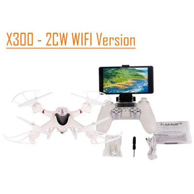 SJ X300 - 2CW WIFI RC Quadcopter