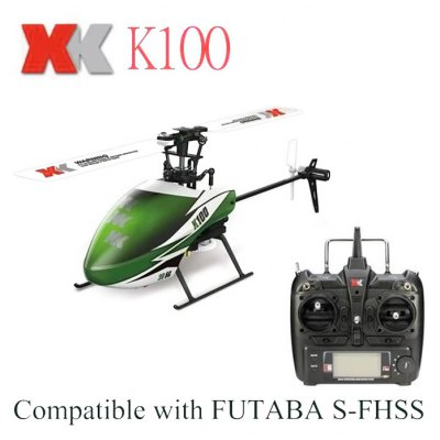 XK K100 Tiny 2.4GHz 6CH Helicopter Ready-to-fly Version