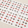 best 10pcs Colorful Stylish Art Sticker Tips Decoration Manicure Nail Paste