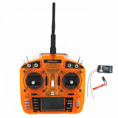 MKron T - six i6S 2.4GHz 6CH LCD Transmitter + S603 Receiver for Model DIY