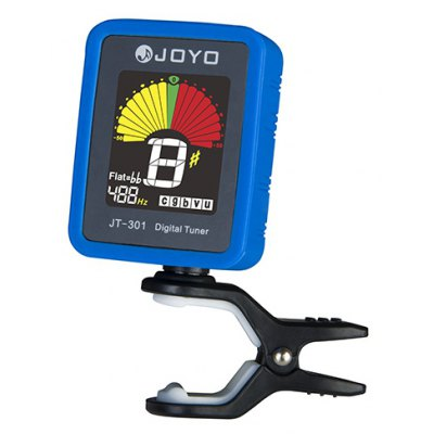 JOYO JT - 301 Clip-on Electric Tuner with Color Screen Fitting for Guitar Bass Ukulele