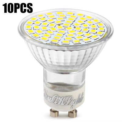 10 x YouOKLight SMD 3528 3W GU10 350Lm LED Spot Bulb