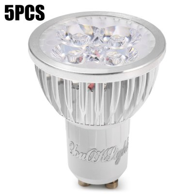 5pcs YouOKLight 4W GU10 350Lm 5 x LED Spotlight Bulb