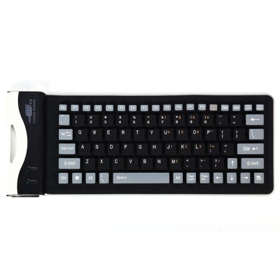 Foldable USB 2.0 Wired Keyboard