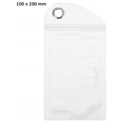 100 x 200mm PVC Ziplock Packaging Storage Bag Protective Cover Phone Accessory