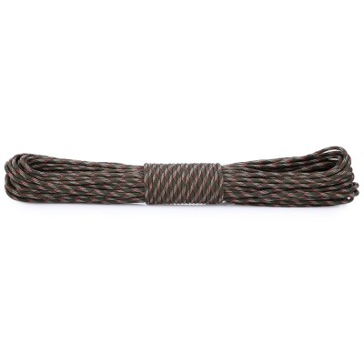 Practical 30M Nylon Braided Cord Military Survival Parachute Rope