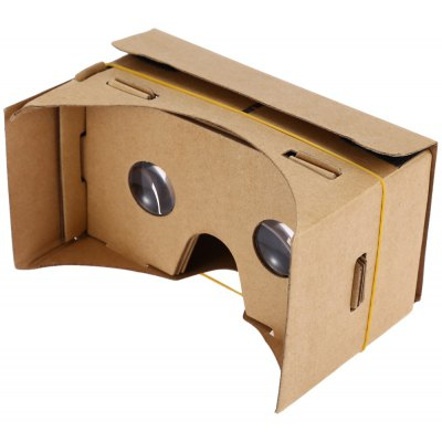 DIY Magnet Virtual Reality Cardboard for Smartphones