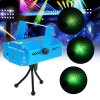 LT - G09 Green + Red Laser Projector Lamp Stage Effect Light for Music Concert Dancing Party
