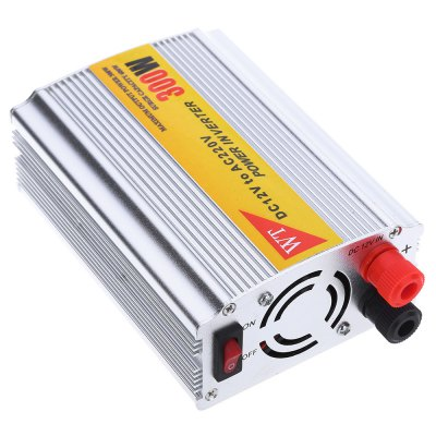 300W 12V DC to 220V AC Car Power Adapter