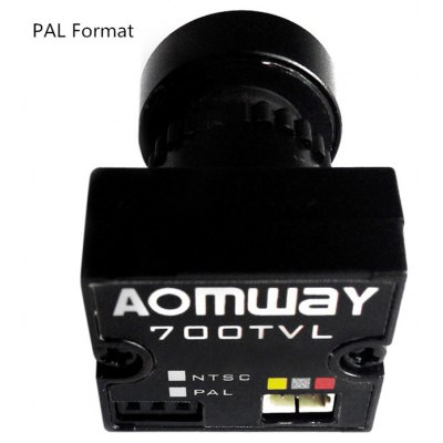 Aomway 700TVL HD 1 / 3 inch CMOS 170 Degree Wide Angle Lens PAL Format Camera Module Accessory for FPV Project
