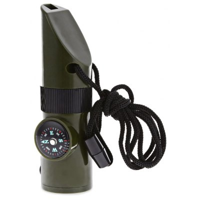 Multifunctional Military Survival Whistle