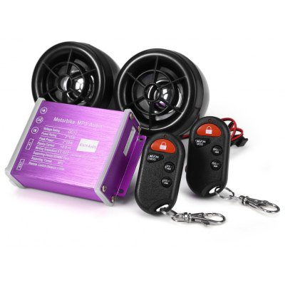 12V Motorcycle MP3 Music FM Radio Player