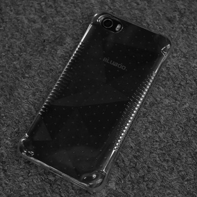 BLUBOO Picasso Transparent TPU Protective Back Case