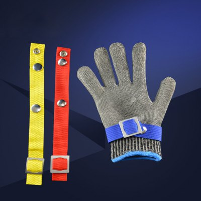 Stab Resistant Stainless Steel Wire Mesh Butcher Glove