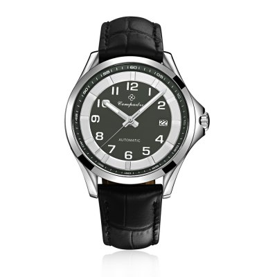 Compadre 8004 Leather Band Date Men Automatic Mechanical WatchMechanical Watches<br>Compadre 8004 Leather Band Date Men Automatic Mechanical Watch<br><br>Brand: Compadre<br>Watches categories: Male table<br>Watch style: Business<br>Available color: Black,Coffee,Gray<br>Movement type: Automatic mechanical watch<br>Shape of the dial: Round<br>Display type: Analog<br>Case material: Stainless Steel<br>Band material: Leather<br>Clasp type: Pin buckle<br>Special features: Date,Luminous<br>Water resistance : 50 meters<br>Dial size: 4.10 cm / 1.61 inches<br>Band size: 2 cm / 0.79 inches<br>Wearable length: 23.00 cm / 9.06 inches<br>Product weight: 0.052 kg<br>Package weight: 0.082 kg<br>Product size (L x W x H): 23.00 x 4.10 x 1.00 cm / 9.06 x 1.61 x 0.39 inches<br>Package size (L x W x H): 24.00 x 5.10 x 2.00 cm / 9.45 x 2.01 x 0.79 inches<br>Package Contents: 1 x Men Watch