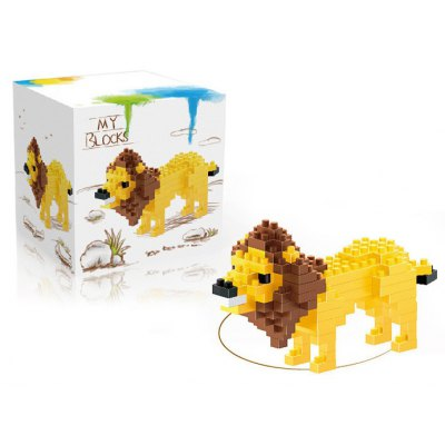 142Pcs Lion Shape Building Block Educational Decoration Toy for Spatial ThinkingBlock Toys<br>142Pcs Lion Shape Building Block Educational Decoration Toy for Spatial Thinking<br><br>Type: Building Blocks<br>Age: 14 Years+<br>Material: ABS<br>Design Style: Cartoon<br>Features: DIY<br>Puzzle Style: 3D Puzzle<br>Small Parts : Yes<br>Washing: Yes<br>Applicable gender: Unisex<br>Product weight: 0.020 kg<br>Package weight: 0.028 kg<br>Product size (L x W x H): 5.50 x 3.00 x 5.50 cm / 2.17 x 1.18 x 2.17 inches<br>Package size (L x W x H): 6.50 x 6.50 x 6.50 cm / 2.56 x 2.56 x 2.56 inches<br>Package Contents: 142 x Module, 1 x User Manual