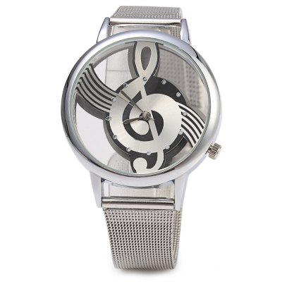 9687 Transparent Dial Musical Note Pattern Male Quartz WatchMens Watches<br>9687 Transparent Dial Musical Note Pattern Male Quartz Watch<br><br>Watches categories: Male table<br>Watch style: Fashion<br>Available color: Rose Gold,Silver<br>Movement type: Quartz watch<br>Shape of the dial: Round<br>Display type: Analog<br>Case material: Stainless Steel<br>Band material: Steel<br>Clasp type: Pin buckle<br>Dial size: 3.5 x 3.5 x 1.0 cm / 1.38 x 1.38 x 0.39 inches<br>Band size: 23.5 x 1.5 cm / 9.25 x 0.59 inches<br>Wearable length: 17.3 - 22.5 cm / 6.81 - 8.86 inches<br>Product weight: 0.047 kg<br>Package weight: 0.077 kg<br>Product size (L x W x H): 23.50 x 4.00 x 1.00 cm / 9.25 x 1.57 x 0.39 inches<br>Package size (L x W x H): 24.50 x 5.00 x 2.00 cm / 9.65 x 1.97 x 0.79 inches<br>Package Contents: 1 x Male Watch