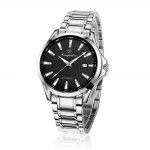Compadre 8001 Stainless Band Date Men Automatic Mechanical Watch