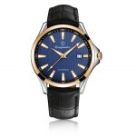 Compadre 8001 Leather Band Date Men Automatic Mechanical Watch