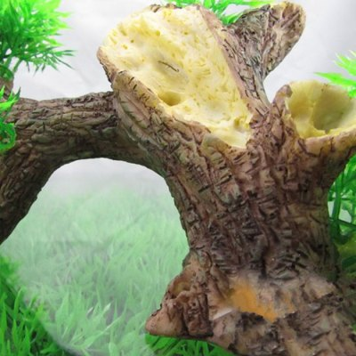 Artificial Resin Wood Aquarium Decoration Fish Tank Decor
