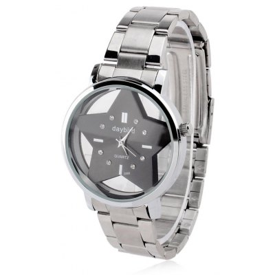 Daybird 3592 Pentagram Transparent Dial Men Quartz Watch