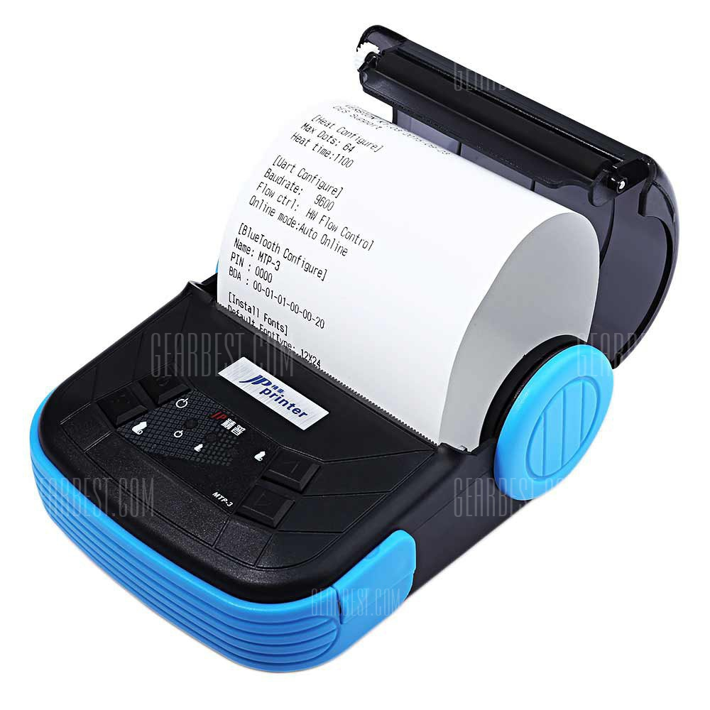 JP MTP 3 Mini 80mm Bluetooth 2.0 Android Thermal POS Printer