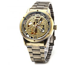 Boxio B9446 Hollow-out Dial Male Automatic Mechanical Watch