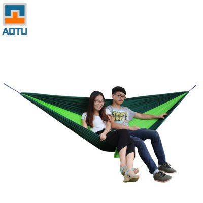 AOTU AT6737 2-Person Parachute Nylon Fabric Hammock