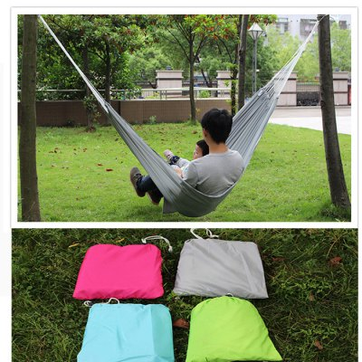 AOTU AT6716 2-Person Parachute Nylon Fabric Hammock