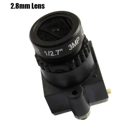 Spare CMOS 800TVL HD 2.8mm Lens Camera for Fixed-wing Plane QAV250 210 RC Multicopter FPV Project
