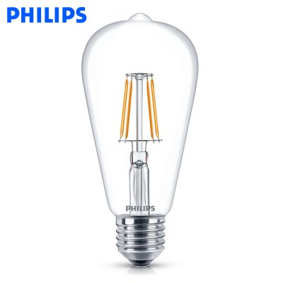 Philips E27 4.3W 470LM ST64 LED Edison Bulb