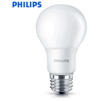 Philips E27 7W 600Lm 6500K A60 LED Light Bulb