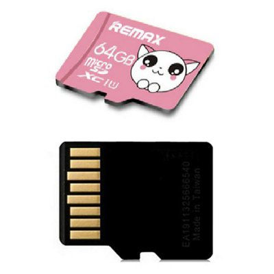 REMAX 64GB Micro SDXC SD Memory Card