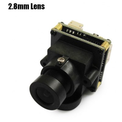 EFFIO - 673 700TVL HD 2.8mm Lens Camera - NTSC Format