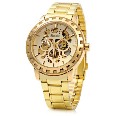 Boxio 9557 Hollow-out Dial Male Automatic Mechanical Watch