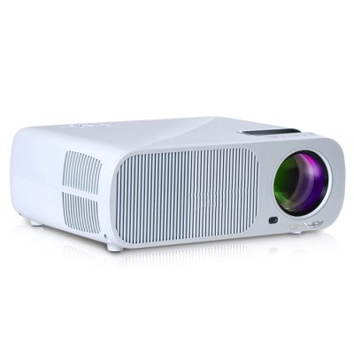 UhAPPy U20 LCD Projector 3D PlayerProjectors<br>UhAPPy U20 LCD Projector 3D Player<br><br>Brand: Uhappy<br>Model: U20<br>Display type: LCD<br>Native Resolution: 800 x 480<br>Brightness: 2600LM<br>Contrast Ratio: 2000:1<br>Projection Distance: 1.20m-6.0m<br>Image Size: 32 - 200 inch<br>Image Scale: 16:9,4:3<br>Lamp Power: 110W<br>Lamp: LED<br>Interface: Audio Out Port,AV,HDMI,SD Card Slot,USB,VGA<br>WIFI: 802.11b/g/n<br>Bluetooth: Unsupport<br>Video Formats: AVI<br>Audio Formats: AC3<br>Power Supply: 110 - 240V<br>Certificate: CE<br>Color: Black,White<br>Built-in Speaker: Yes<br>DVB-T Supported: No<br>External Subtitle Supported: No<br>Aspect ratio: 16:9 / 4:3<br>3D: Yes<br>Product weight: 2.700 kg<br>Package weight: 3.172 kg<br>Product size (L x W x H): 10.00 x 26.00 x 22.00 cm / 3.94 x 10.24 x 8.66 inches<br>Package size (L x W x H): 34.00 x 28.00 x 40.00 cm / 13.39 x 11.02 x 15.75 inches<br>Package Contents: 1 x UhAPPy U20 LCD Projector, 1 x AV Cable, 1 x Power Adapter, 1 x Lens Cleaner, 1 x Remote Control, 1 x English Manual