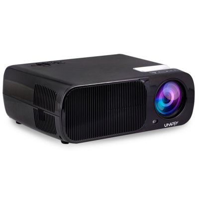 UhAPPy U20 LCD Projector 3D PlayerProjectors<br>UhAPPy U20 LCD Projector 3D Player<br><br>3D: Yes<br>Aspect ratio: 16:9 / 4:3<br>Audio Formats: AC3<br>Bluetooth: Unsupport<br>Brand: Uhappy<br>Brightness: 2600LM<br>Built-in Speaker: Yes<br>Certificate: CE<br>Color: Black,White<br>Contrast Ratio: 2000:1<br>Display type: LCD<br>DVB-T Supported: No<br>External Subtitle Supported: No<br>Function: 3D, Speaker<br>Image Scale: 16:9,4:3<br>Image Size: 32 - 200 inch<br>Interface: AV, Audio Out Port, VGA, SD Card Slot, HDMI, USB<br>Lamp: LED<br>Lamp Power: 110W<br>Model: U20<br>Native Resolution: 800 x 480<br>Operating system: Android<br>Package Contents: 1 x UhAPPy U20 LCD Projector, 1 x AV Cable, 1 x Power Adapter, 1 x Lens Cleaner, 1 x Remote Control, 1 x English Manual<br>Package size (L x W x H): 34.00 x 28.00 x 40.00 cm / 13.39 x 11.02 x 15.75 inches<br>Package weight: 3.120 kg<br>Power Supply: 110 - 240V<br>Product size (L x W x H): 10.00 x 26.00 x 22.00 cm / 3.94 x 10.24 x 8.66 inches<br>Product weight: 2.700 kg<br>Projection Distance: 1.20m-6.0m<br>Video Formats: AVI<br>WIFI: 802.11b/g/n