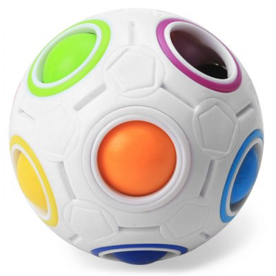 YONGJUN Moyu 5.5cm Diameter Magic Rainbow Ball Intelligent Toy Fun Gift