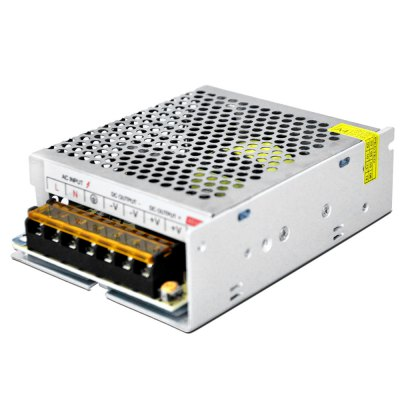 AC 85  -  264V to DC 24V 100W 4.2A Switching Power Supply for LED Tape LightLED Accessories<br>AC 85  -  264V to DC 24V 100W 4.2A Switching Power Supply for LED Tape Light<br><br>Rated Power (W): &gt;90<br>Product weight: 0.330 kg<br>Package weight: 0.400 kg<br>Product size (L x W x H): 13.00 x 9.80 x 4.00 cm / 5.12 x 3.86 x 1.57 inches<br>Package size (L x W x H): 14.00 x 11.00 x 5.00 cm / 5.51 x 4.33 x 1.97 inches<br>Package Contents: 1 x Switching Power Supply