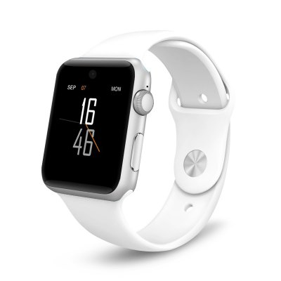 DM09 Smartwatch PhoneSmart Watch Phone<br>DM09 Smartwatch Phone<br><br>Type: Watch Phone<br>CPU: MTK2502<br>External Memory: TF card up to 32GB (not included)<br>Network type: GSM<br>Frequency: GSM850/900/1800/1900MHz<br>Bluetooth: Yes<br>Bluetooth version: V3.0,V4.0<br>Screen type: Capacitive,IPS<br>Screen size: 1.54 inch<br>Screen resolution: 240 x 240<br>Camera type: Single camera<br>Front camera: 0.3MP<br>Video recording: Yes<br>SIM Card Slot: Single SIM(Micro SIM slot)<br>Micro USB Slot: Yes<br>Picture format: JPEG<br>Music format: AAC,MP3,WAV<br>Video format: 3GP<br>Languages: English, French, Italian, Spanish, Portuguese, Dutch, Polish, German, Turkish, Russian, Japanese, Korean<br>Additional Features: Alarm,Bluetooth,Browser,Calculator...,Calendar,MP3,MP4,People,Sound Recorder<br>Cell Phone: 1<br>Battery: 320mAh Built-in Battery<br>Charging Cable: 1<br>Product size: 4.25 x 3.55 x 1.15 cm / 1.67 x 1.4 x 0.45 inches<br>Package size: 17.50 x 12.50 x 2.50 cm / 6.89 x 4.92 x 0.98 inches<br>Product weight: 0.056 kg<br>Package weight: 0.230 kg