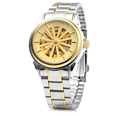 Boxio 9552 Hollow-out Dial Male Automatic Mechanical Watch