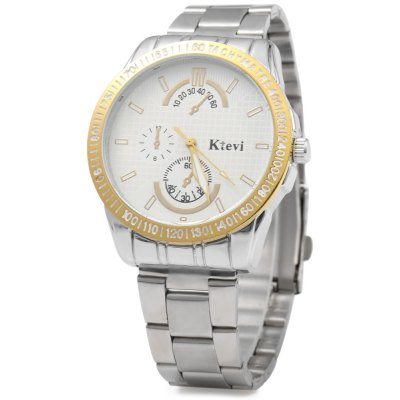 Ktevi K8007M Decorative Sub-dial Men Japan Quartz Watch