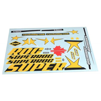 FMS 1100mm MXS Glider Model Original Decal Sticker Set RC Fixed-wing Aeroplane Spare Parts