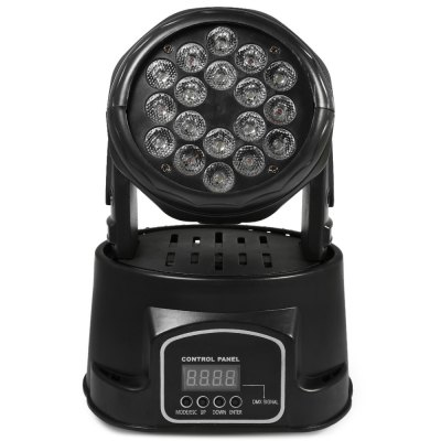 LT - I 75W Rotating LED Stage Effect LightStage Lighting<br>LT - I 75W Rotating LED Stage Effect Light<br><br>Model: LT-I<br>Type: LED Effects Stage Light,Moving Head Lights<br>Laser Color: Colorful<br>Wavelength Range / CCT: 380-420nm,400-435nm,450-460nm,620-625nm;520-525nm;460-465nm<br>Output Power (W): 75W<br>Lifespan (Hour): 100000h<br>Function: For Decoration,For party<br>Shape: Cylinder<br>Body Color: Black<br>Material: Aluminum Alloy<br>Product weight: 2.800 kg<br>Package weight: 2.950 kg<br>Product Size(L x W x H): 24.00 x 18.00 x 21.00 cm / 9.45 x 7.09 x 8.27 inches<br>Package size (L x W x H): 27.00 x 22.00 x 25.00 cm / 10.63 x 8.66 x 9.84 inches<br>Package Contents: 1 x Stage Light, 1 x Bracket, 2 x Screw, 1 x Cable