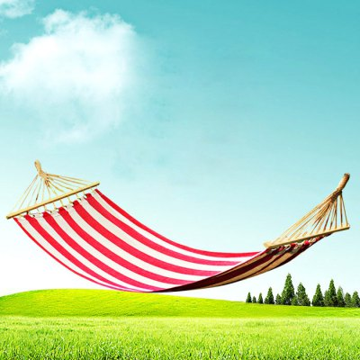 AOTU AT6735 1 Person Cotton Fabric Hammock