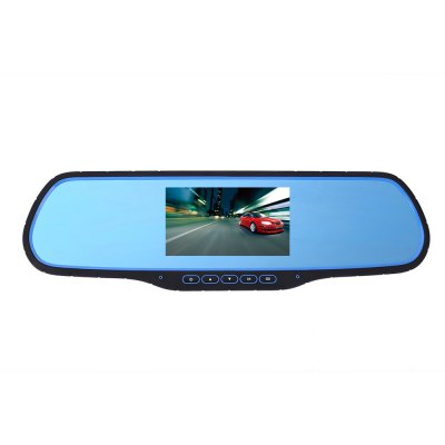 H-05 12 - 24V 170 Degree 1080P FHD Dual Lens Car DVR Rearview MirrorCar DVR<br>H-05 12 - 24V 170 Degree 1080P FHD Dual Lens Car DVR Rearview Mirror<br><br>Model: H-05<br>Type: Full HD Dashcam<br>Chipset Name: Generalplus<br>Chipset: Generalplus 2248<br>Max External Card Supported: TF 16G (not included)<br>Class Rating Requirements: Class 10 or Above<br>Screen size: 4.3inch<br>Screen type: LCD<br>Battery Type: Built-in<br>Charge way: Car charger<br>Wide Angle: 170 degree wide angle<br>Video format: AVI<br>Video Resolution: 1080P (1920 x 1080)<br>Image Format : JPG<br>Image resolution: 1M (1280?720),2M (1920 x 1080),5M (2592 x 1944),8M (3264 x 2448)<br>Audio System : Built-in microphone/speacker (AAC)<br>Loop-cycle Recording : Yes<br>Loop-cycle Recording Time: 2min,3min,5min<br>Motion Detection: Yes<br>G-sensor: Yes<br>USB Function: USB-Disk<br>Interface Type: AV-in,GPS Antenna Port,Mini USB,TF Card Slot<br>Language: English,French,German,Italian,Japanese,Korean,Portuguese,Simplified Chinese,Spanish,Traditional Chinese<br>Product weight: 0.298 kg<br>Package weight: 0.884 kg<br>Product size (L x W x H): 31.00 x 9.30 x 1.70 cm / 12.20 x 3.66 x 0.67 inches<br>Package size (L x W x H): 36.70 x 14.50 x 9.40 cm / 14.45 x 5.71 x 3.70 inches<br>Package Contents: 1 x Car DVR Mirror, 1 x Rear Camera (6m Approx.), 1 x Car Charger (3m Approx.), 2 x Screw, 1 x Adhesive Sticker, 2 x Rubber Fixing Band