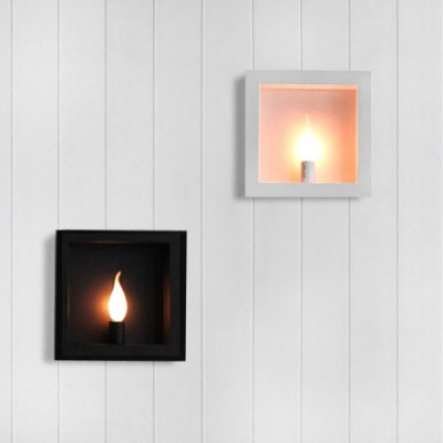 Photo Frame Wall Sconce TV Background Decoration