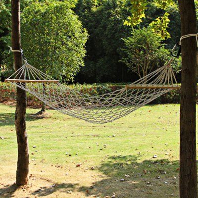 AOTU AT6720 1-Person Cotton Mesh Hammock